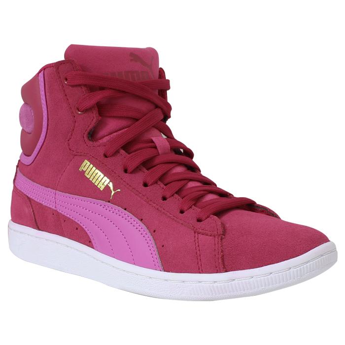 Bota Puma Vikky Rosa-Vermelho-Pink